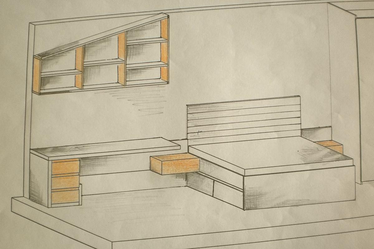 sketch 5 bedroom