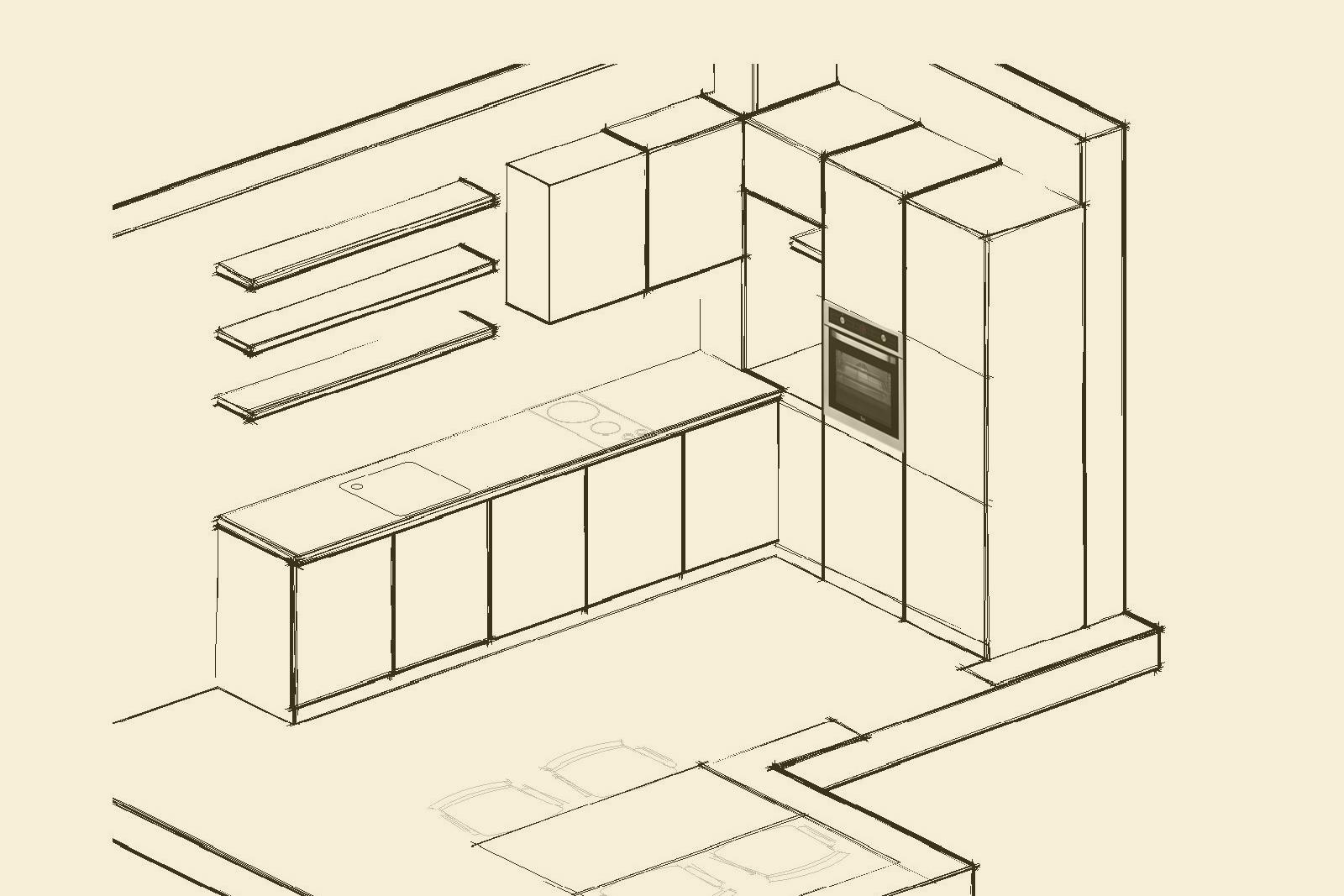 sketch 3 kitchen